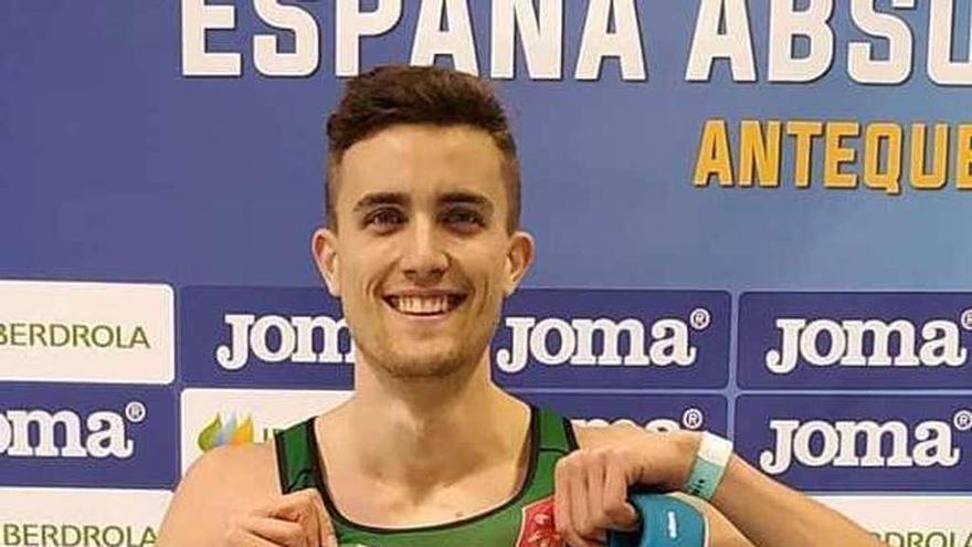Mauro Triana, subcampeón de España de 200 metros