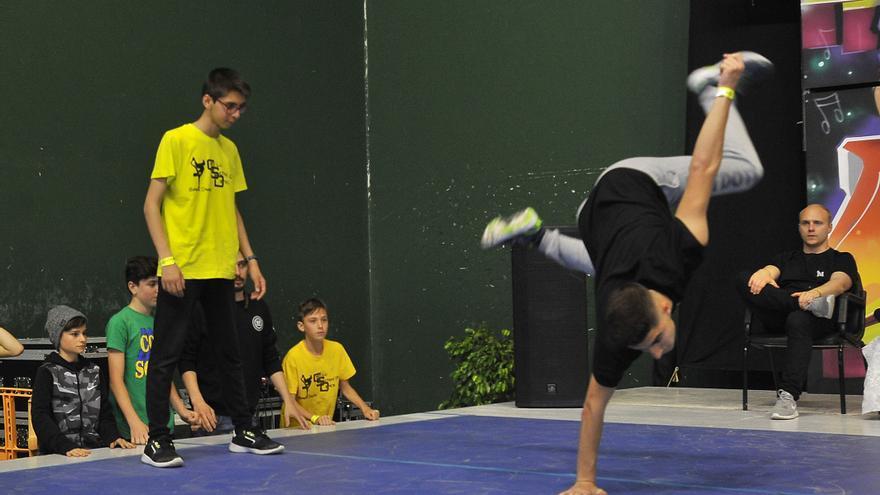 Campeonato nacional de breakdance en Elda