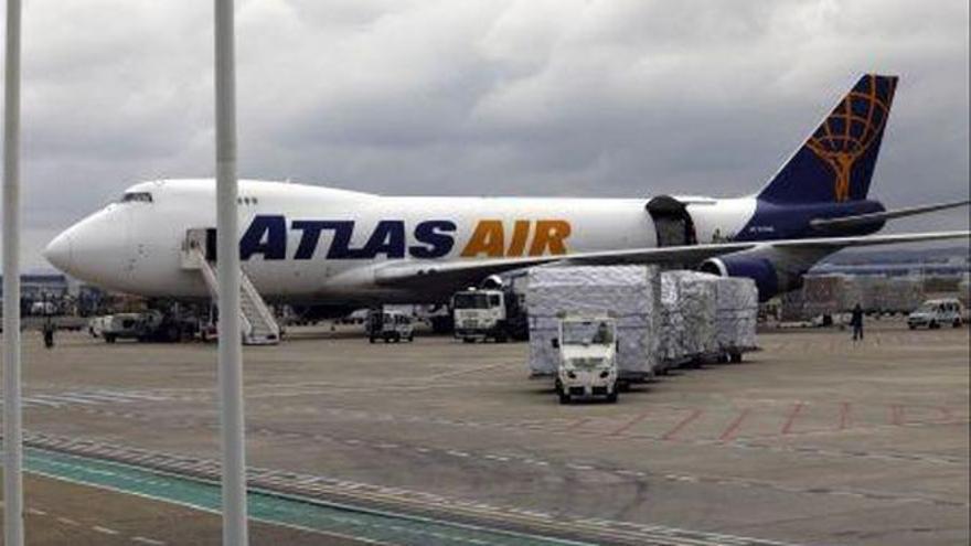 El aeropuerto de Zaragoza supera la pandemia y vuelve a batir récord en mercancías