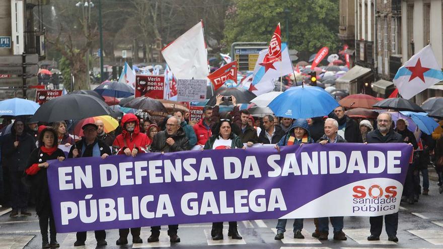 """SOS Sanidade Pública llama hoy a la movilización para """"garantizar"""" la presencialidad en el Sergas"""