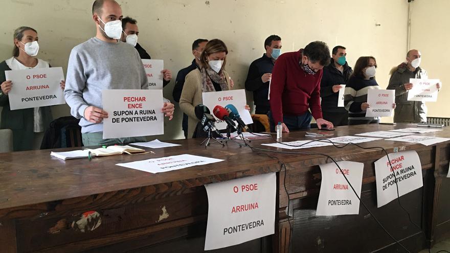 CC OO denuncia que el Gobierno prohibió su manifestación pro Ence, que celebrará otro día