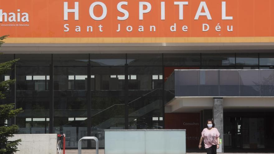 Els hospitals manresans no registren cap defunció aquest diumenge per coronavirus