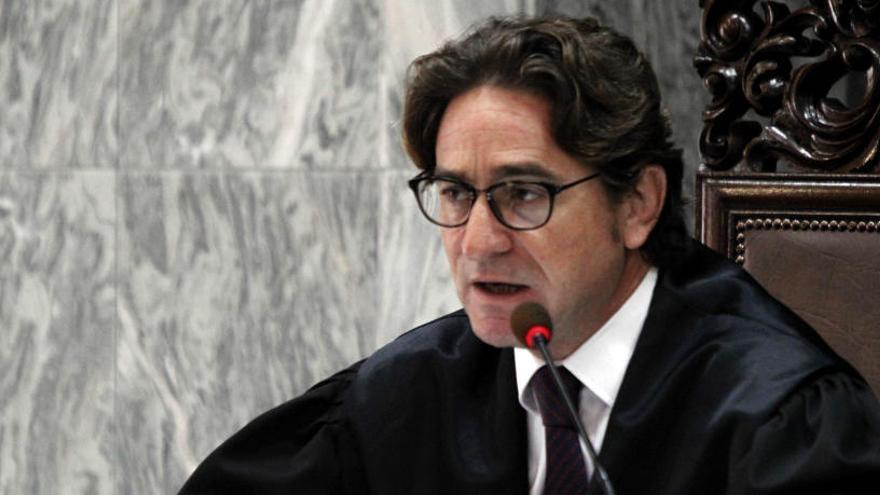 El juez Alba, condenado a seis años de prisión por conspirar contra la jueza Rosell