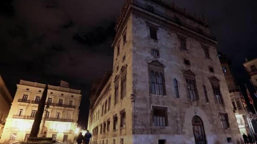 València apaga sus luces