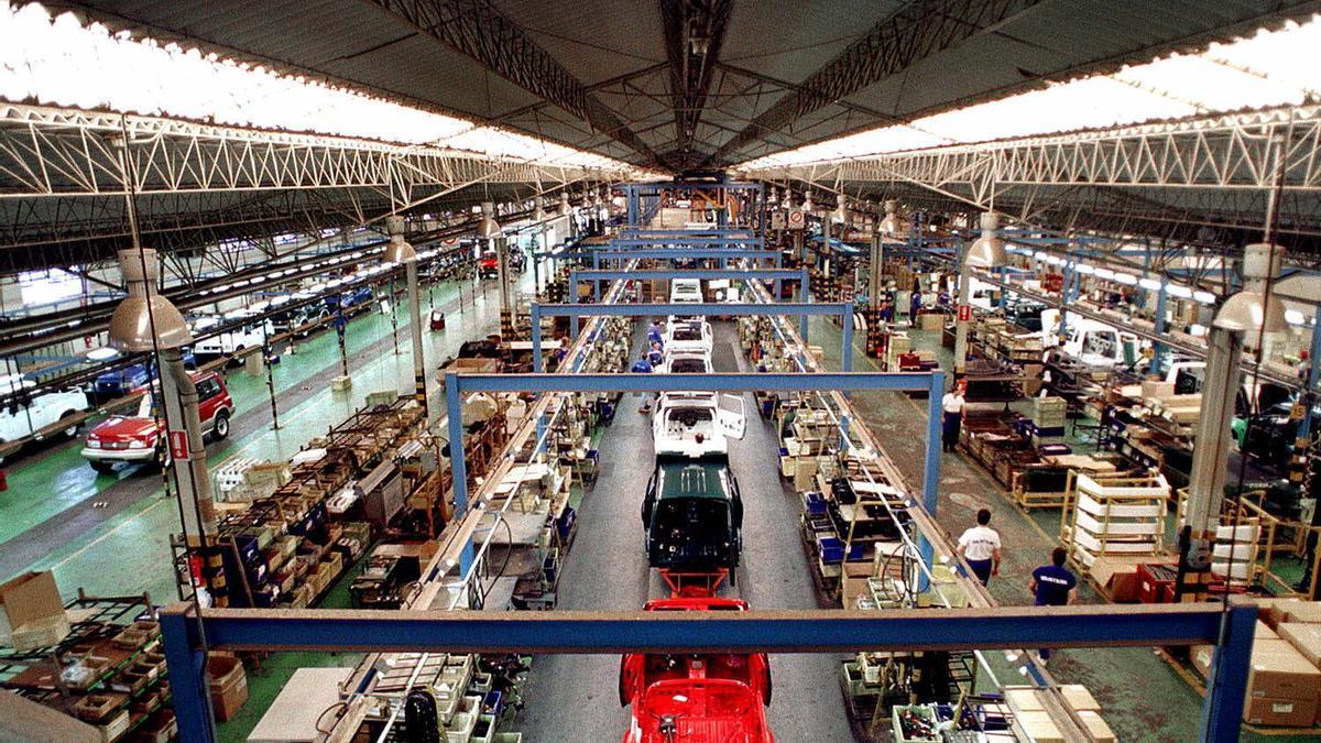 Una factoría de fabricación de coches en Jaén.