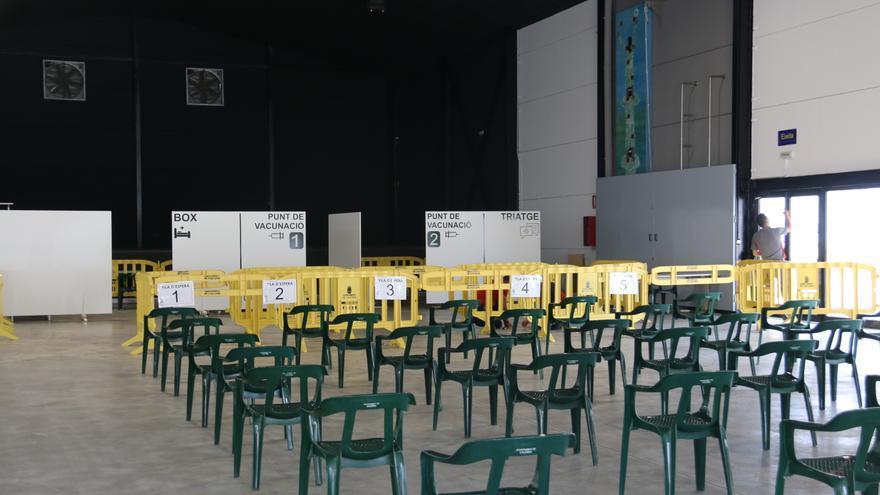 L'Àgora Jove, preparada para empezar la campaña de vacunación en l'Alcúdia