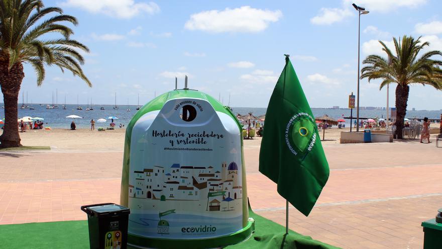 5 municipios murcianos competirán por la Bandera Verde de Ecovidrio