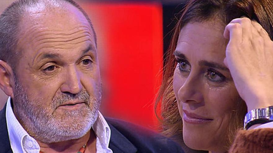 La emotiva reconciliación de Edurne Pasaban y Juanito Oiarzabal en 'Chester'
