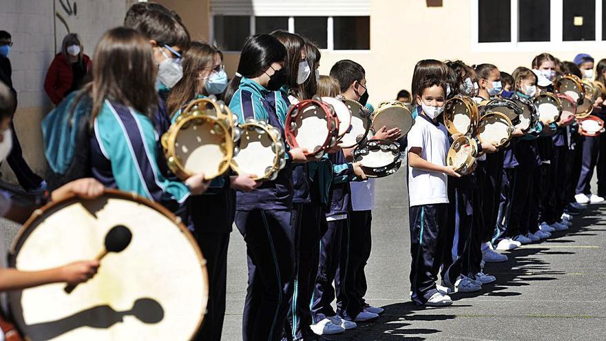 O colexio María Inmaculada celebra o Día das Letras Galegas