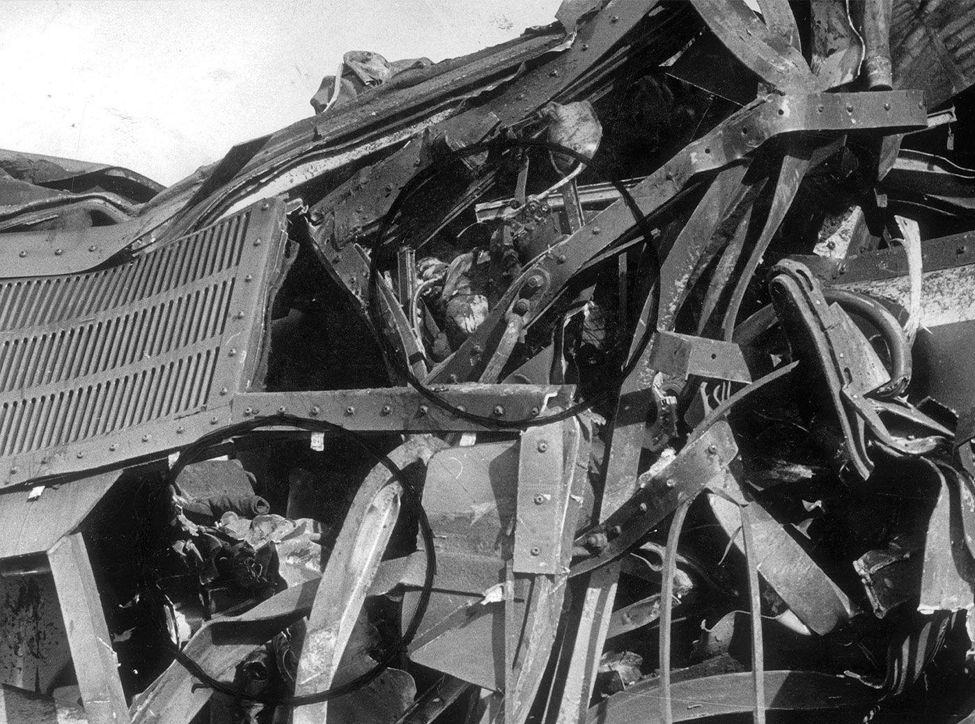 """45 años del """"trueno"""" que acabó con 12 vidas en la vía de Rande"""