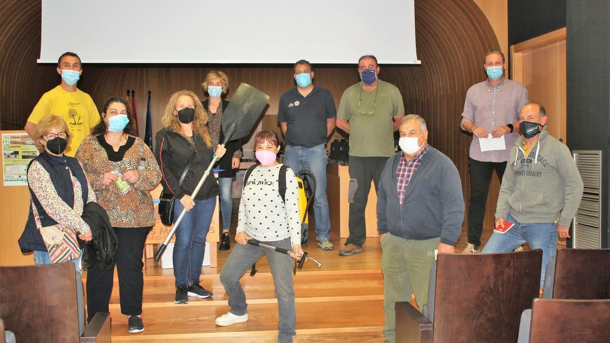 Concluyen en Los Monegros las charlas de lacampaña de sensibilización yprevención de incendios forestales