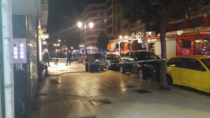 Detenida tras provocar un incendio en su edificio en Oviedo