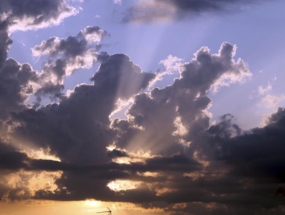 Restes de núvols després d'una tempesta de tarda a Sant Fruitós de Bages