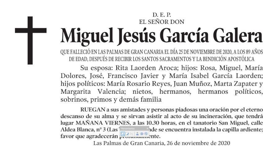 Miguel Jesús García Galera