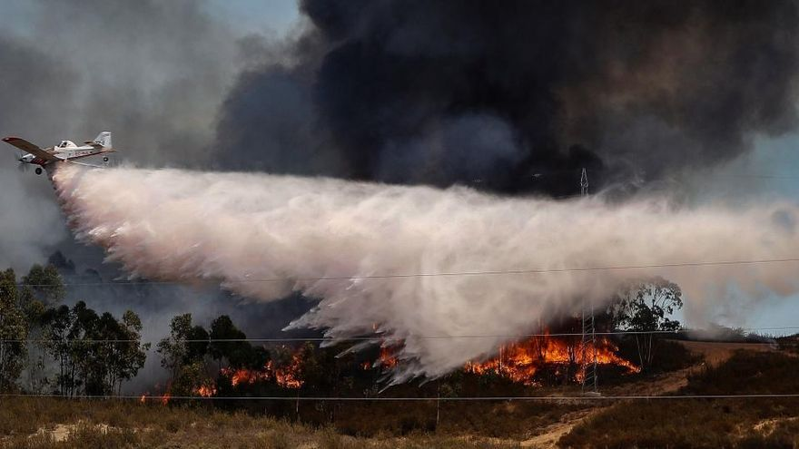 El incendio de Huelva arrasa 10.000 hectáreas y deja más de 3.000 evacuados