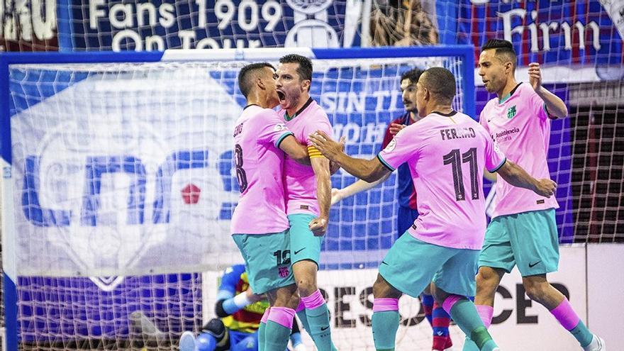 El Levante UD FS pierde el título de la manera más cruel