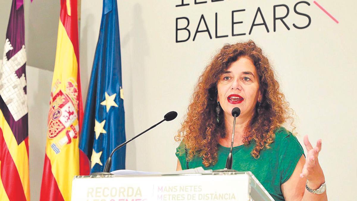 La portavoz y consellera de Presidencia, Pilar Costa, en imagen de archivo.