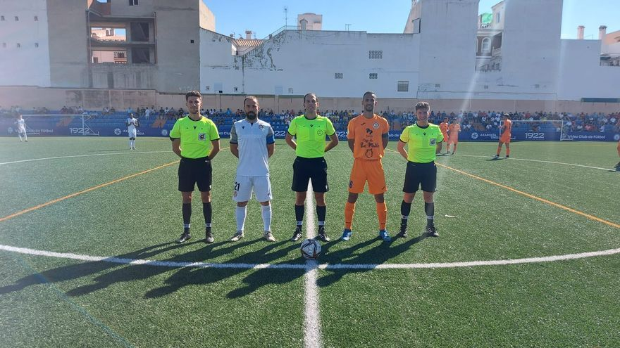 Mazazo para el Panadería Pulido San Mateo en Vélez-Málaga (4-0)