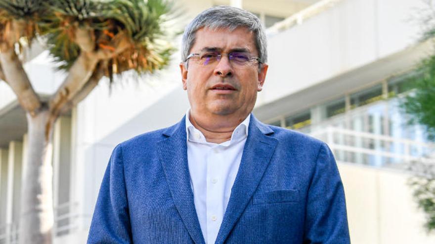 """Marco Aurelio Pérez: """"Los terrenos de Amurga no sirven ni para criar lagartos"""""""