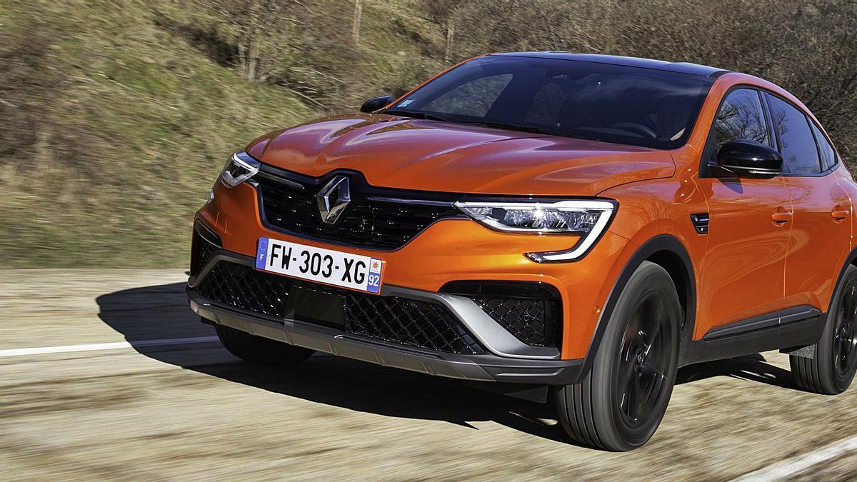 Impresionante aspecto del nuevo Renault Arkana E-Tech.