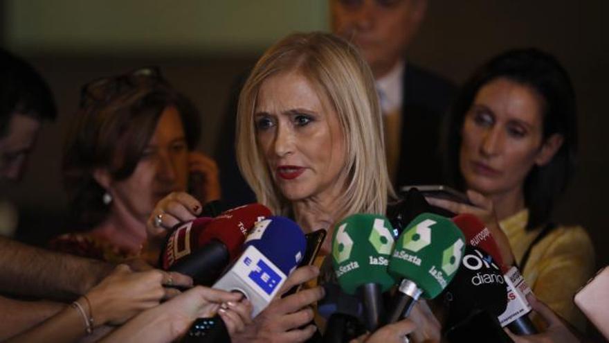 Cifuentes se desmarca de la supuesta financiación irregular del PP madrileño