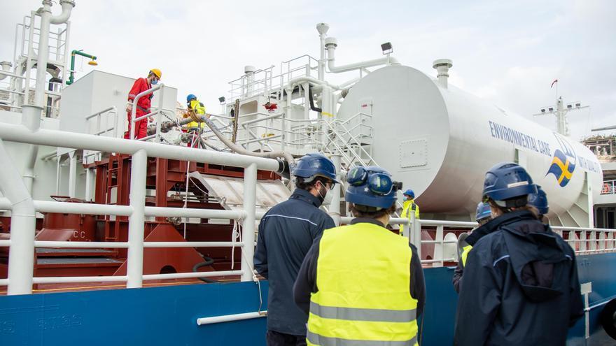 Repostaje de barcos más sostenible en el Puerto de Cartagena