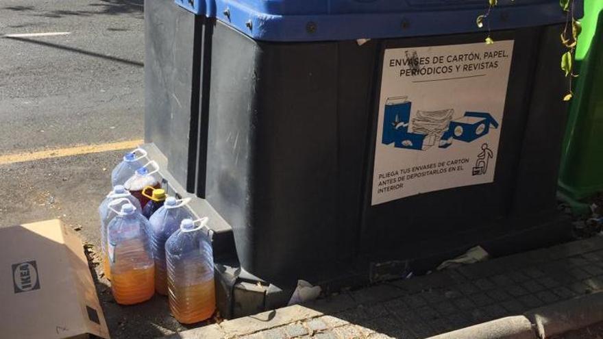 Los vecinos de Siete Palmas denuncian un nuevo vertido ilegal en Fondos de Segura