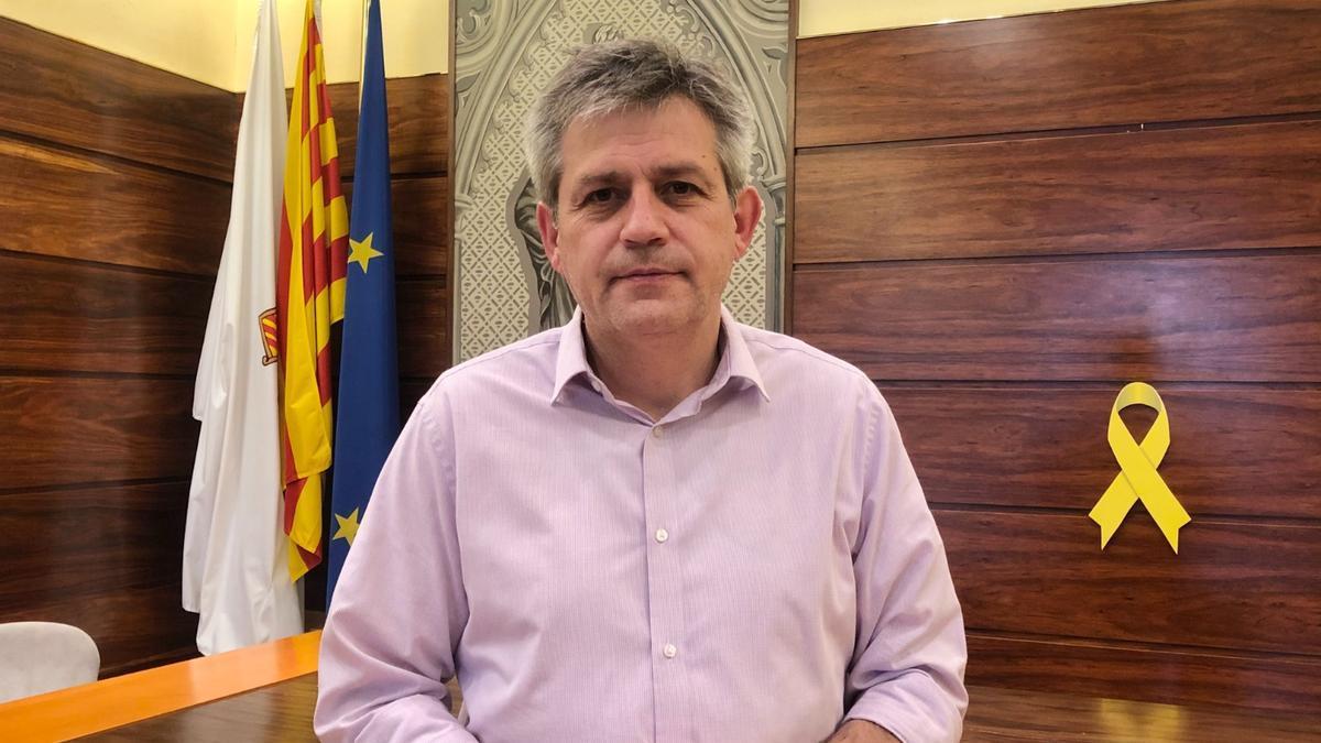 L'alcalde de Solsona, David Rodríguez