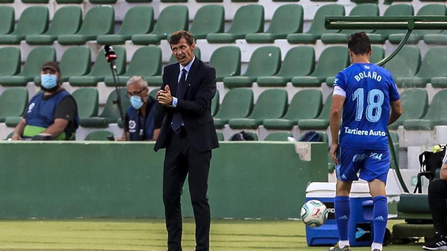 Las mejores imágenes del partido entre el Elche y el Real Oviedo