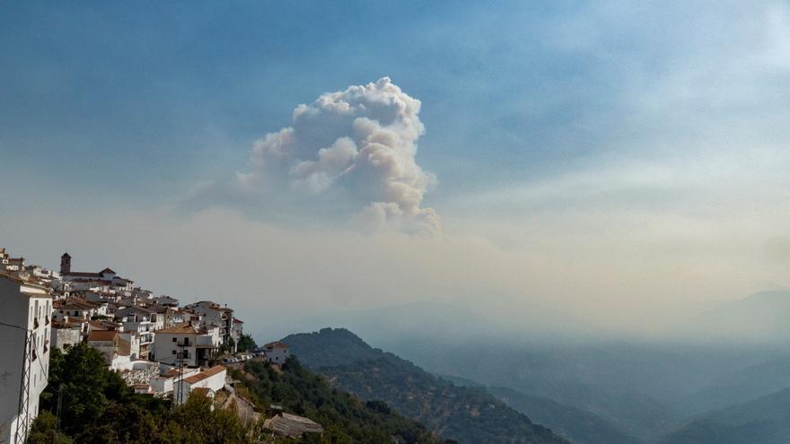 Málaga, un fuego que recuerda al de Gran Canaria de 2019