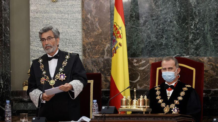 """Lesmes: """"Urge que el CGPJ desaparezca de la lucha partidista y que los partidos alcancen un acuerdo"""""""