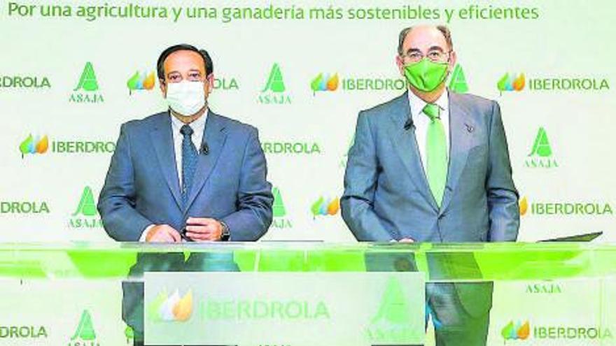 Iberdrola y ASAJA impulsarán la agricultura cero emisiones