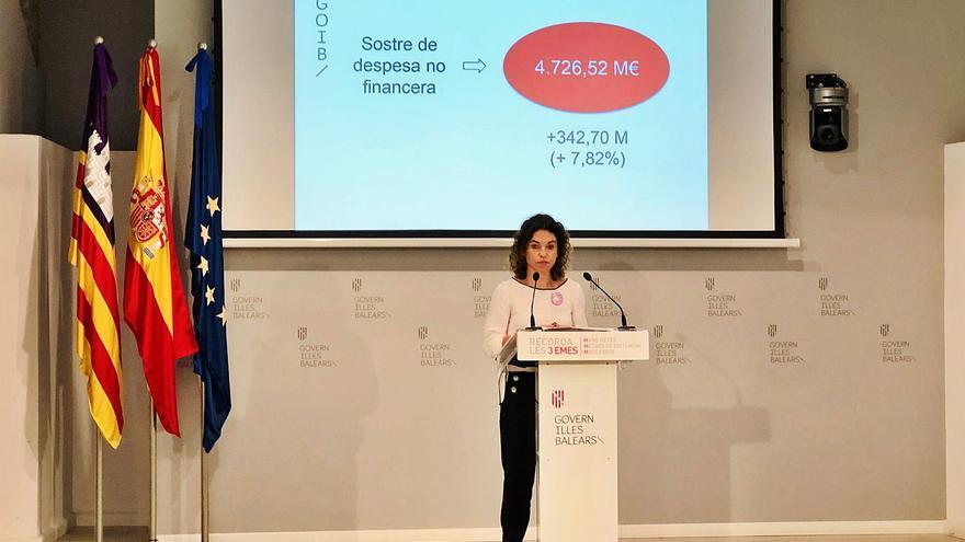 El Govern compensa la prevista caída de ingresos propios con 636 millones estatales y de la UE