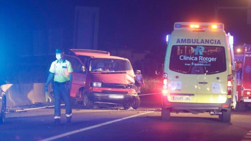 Zwei Tote und mehrere Verletzte bei schwerem Unfall in Palma