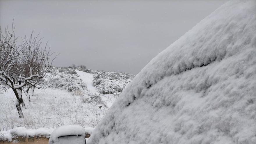 Tormenta  de nieve con  lo peor aún  por llegar