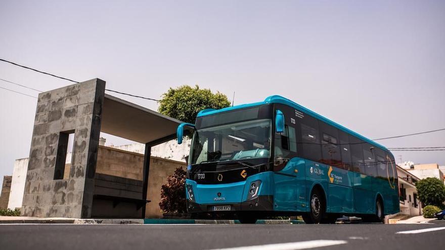 Restringida la actividad de servicios nocturnos en el transporte público interurbano en Gran Canaria