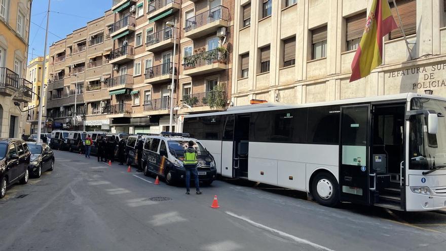 Treinta y nueve detenidos en una operación contra la explotación laboral en Murcia