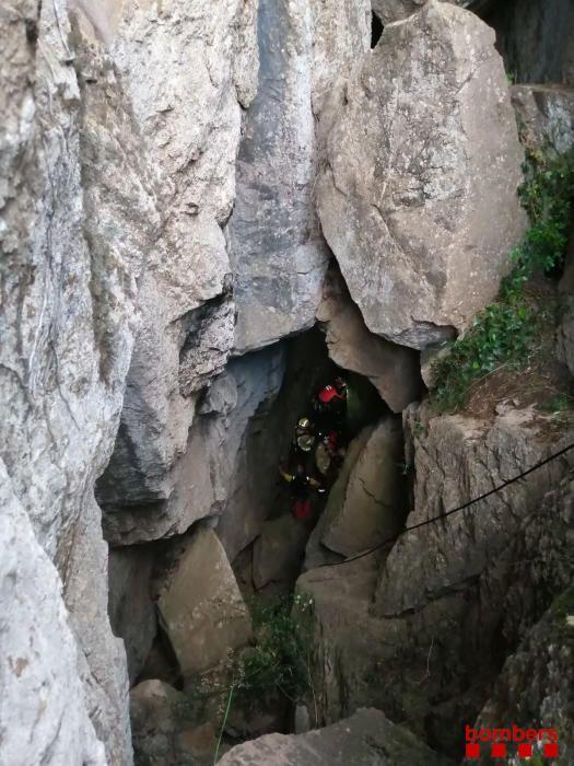 Rescat d'una dona a Begur