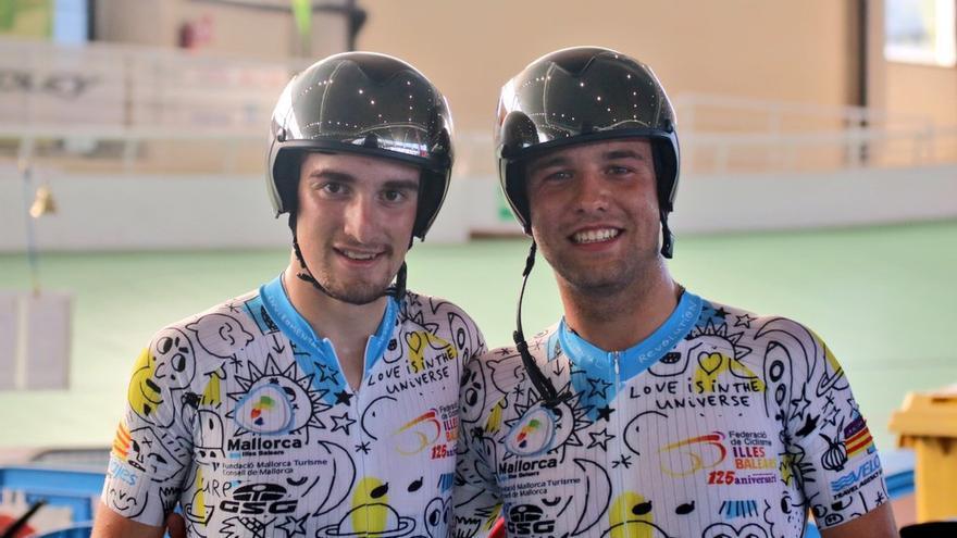Gran actuación de Balears en el Nacional de ciclismo en pista