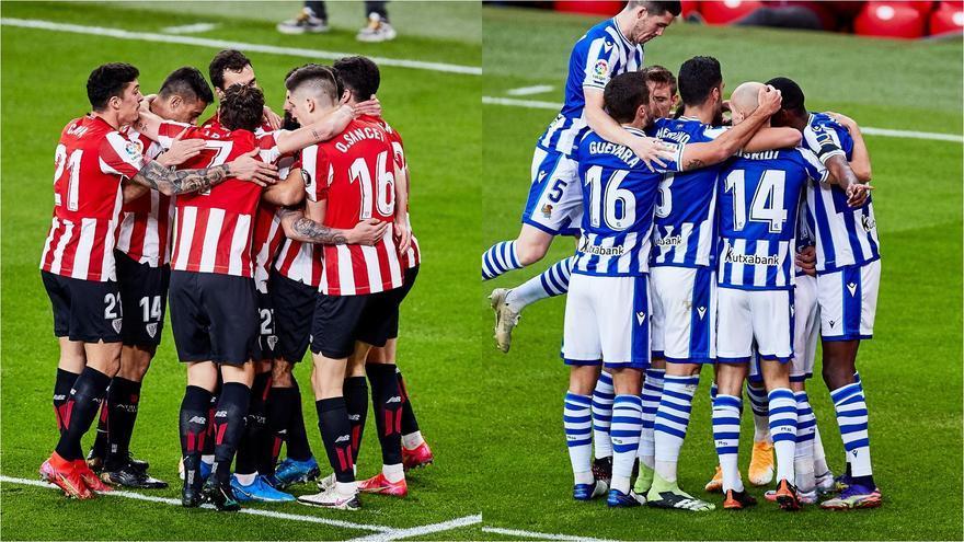Athletic y Real Sociedad lucharán por alzarse con la Copa del Rey en Telecinco