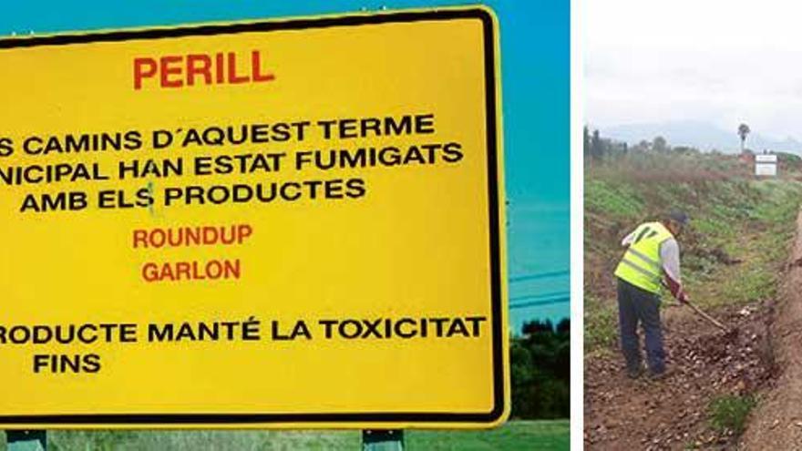 El Consell usa un herbicida sospechoso de ser cancerígeno para fumigar
