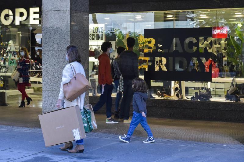 Centros comerciales por el Black Friday