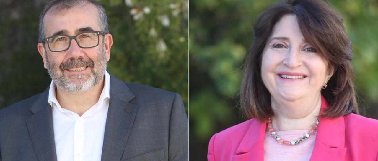Candidatos al rectorado de la UA