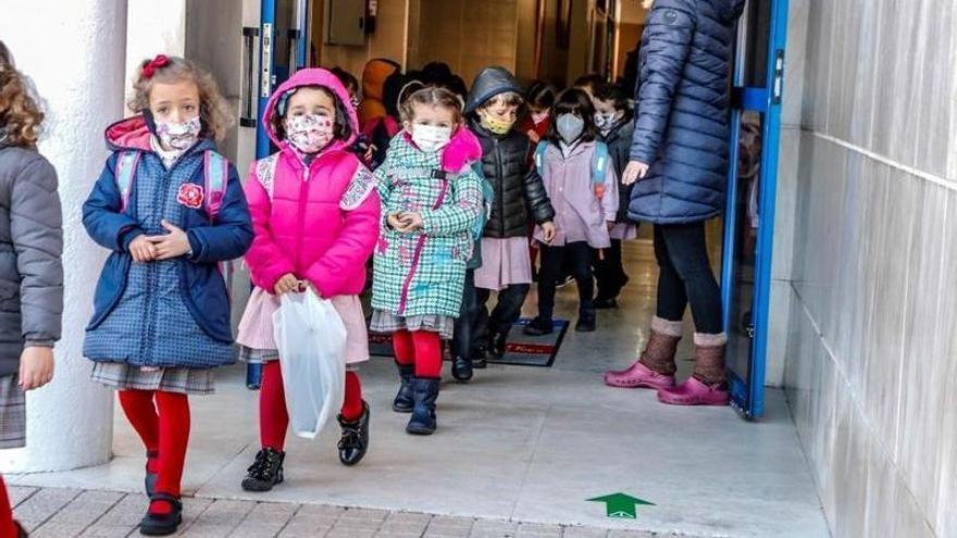 Educación ofertará 216 plazas de 2 años en once colegios públicos