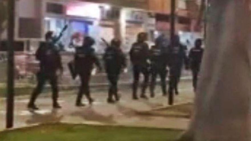 La Policía aborta otra pelea con 100 adolescentes en un parque de Paterna