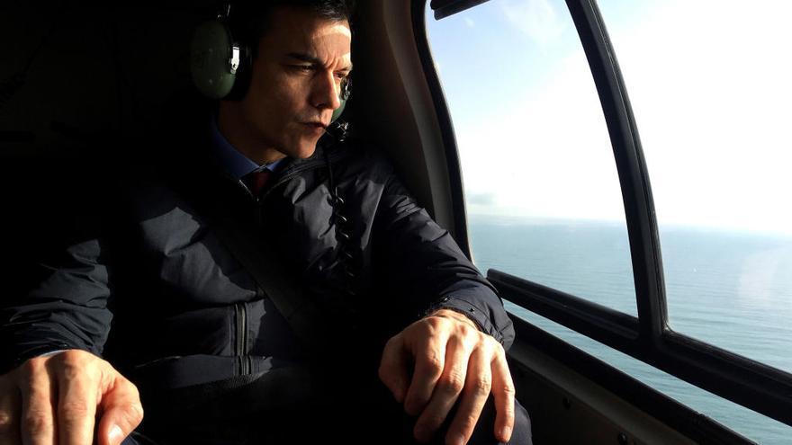 Polémica por el uso del helicóptero de la Guardia Civil por parte de Pedro Sánchez en Mallorca