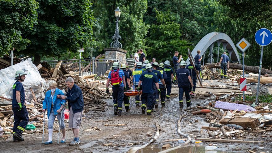 Las fuertes precipitaciones dejan enormes pérdidas en el oeste de Alemania