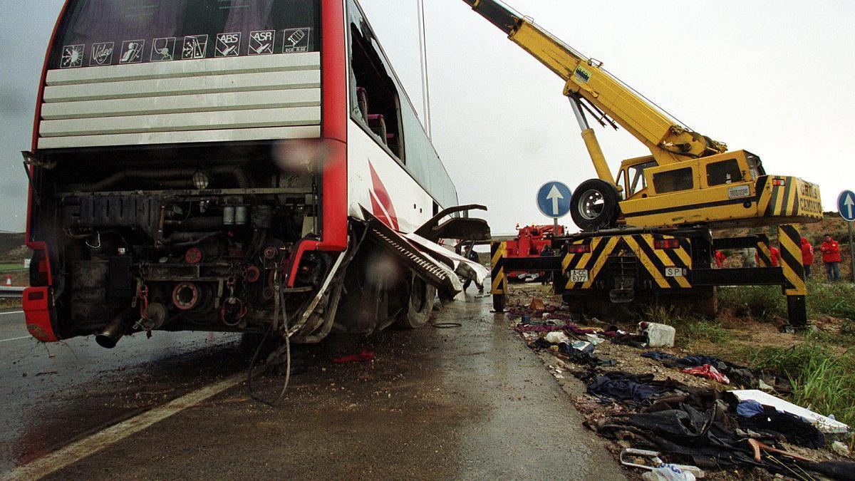 Accidente en la carretera más peligrosa de la Comunitat Valenciana: la N-330-.
