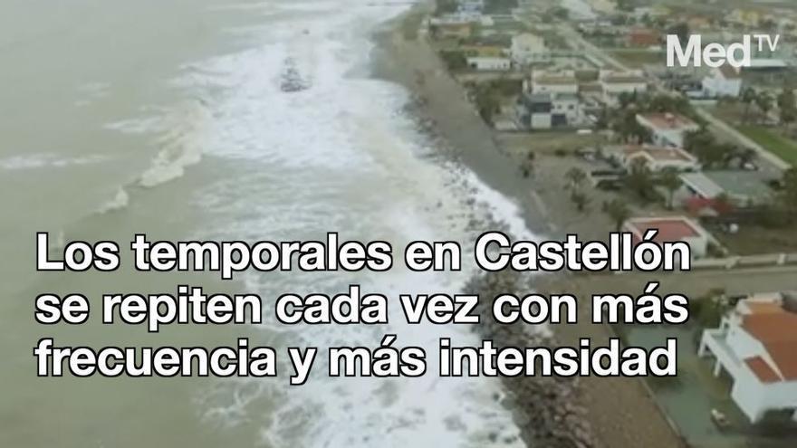 Los desperfectos por los temporales alcanzan cifras millonarias en Castellón