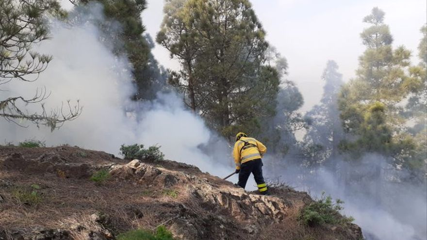 Extinguido el conato de incendio forestal en Valsequillo